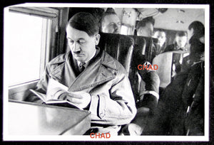 German propaganda photograph Hitler on a plane (prewar)