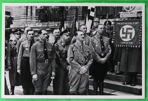 German propaganda photograph Hitler with Nazi leadership Munich 1934