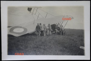 Guerre 14-18 photo avion F40 capoté escadrille MF14 - Juin 1916 #2