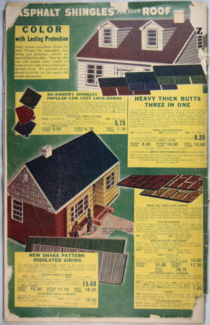 Halliday's Catalog of Builders' Bargains 1952-1953