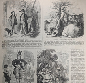 Harper's Weekly July 17 1858 – exhuming President Monroe, Gold Rush