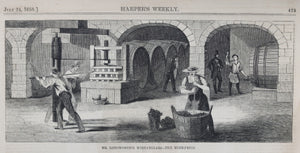 Harper's Weekly July 24 1858 - wine growing (Ohio) and Gold Rush (Canada)