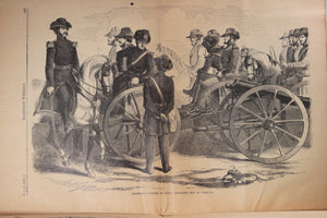 Harper's Weekly June 8, 1861 – beginning of Civil War + Homer print