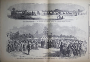 Harper's Weekly Saturday May 25 1861 (Civil War) Re-issue