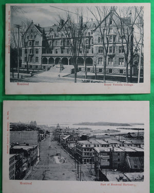Lot of 11 vintage Montreal P.Q. postcards #3