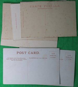 Lot of 6 vintage Montreal PQ postcards #1