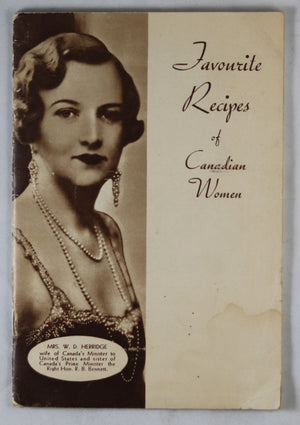 Nestlé 'Favorite Recipes of Canadian Women' 1935