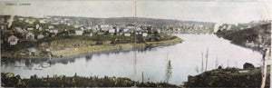 Panoramic Cobalt Ontario mining district postcard c. 1908