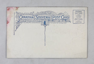 Patriotic postcard mail S.S. Boston (Yarmouth, Canada) @1910