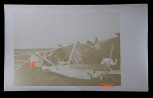 Photo Guerre 14-18 accident mortel avion Voisin escadrille VB-102 1915