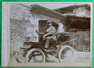 Photo of vintage car @1900s