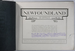Photo pamphlet, 'Newfoundland The Norway of the New World' @1900-1920