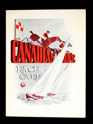 Pre-WW2 Canadian Pacific – SS Duchess of York 'Race Card'
