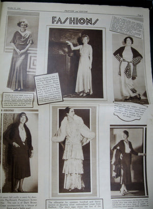 Preview and Review pictorial magazine - October 18th 1930