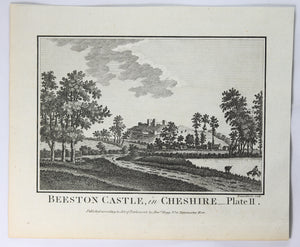 Print 'Beeston Castle – in Cheshire Plate 2' @1790