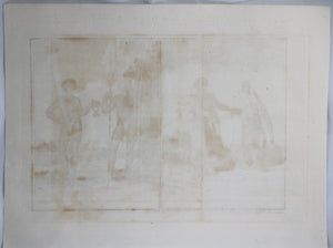 Print 'Man and Woman of the Island of Bravo' @1745-1747