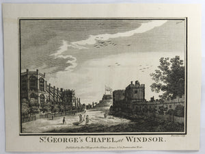 Print 'St. George's Chapel at Windsor' @1795