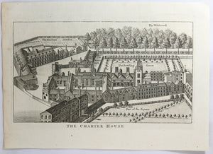Print UK 'The Charter House' @1786