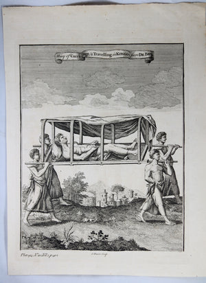 Print 'Way of Carriage & Travelling in Kongo' @1745-1747
