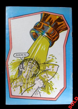 1971 Counter-culture comic book 'Beer Comix' Geary