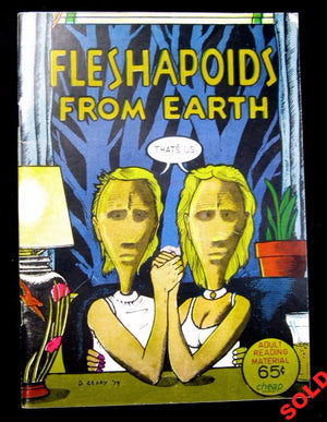 1974 Counter-culture comic 'Fleshapoids from Earth'