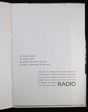 "RCA Victor ""On the Air"" booklet @1935"