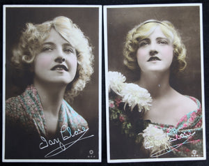Set of three entertainment photo PCs Ivy Close - UK (1914-18)