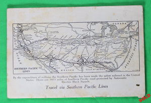 Southern Pacific Lines pamphlet 'Great Salt Lake Cut-Off'@1917