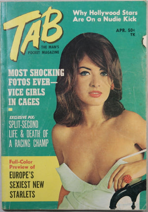 Tab - the Man's Pocket Magazine - April 1966