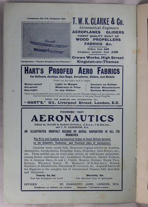 The Aëronautical Journal January 1910 (UK) S.F. Cody