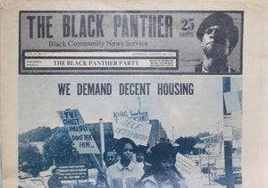 'The Black Panther' newspaper January 24th 1970