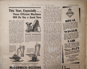 The Canadian Countryman - November 10,1934 (Magazine)