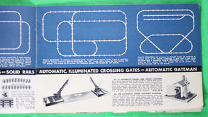 Toy catalog 'LIONEL Track Layouts' @1930s