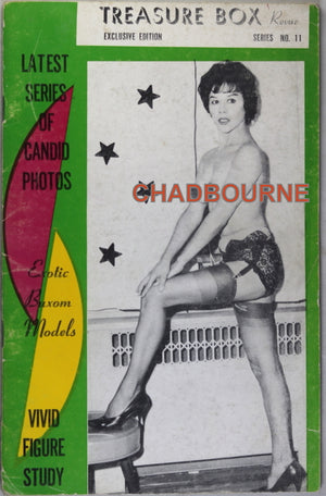 Treasure Box Revue magazine  (60's girlie magazine)