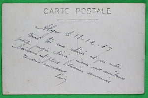 Two WW1 photo postcards from on-board HMS Canada 1917