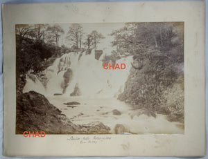Two large photos of Welsh landscape by James Valentine @1880