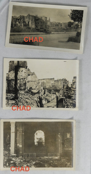 WW1/Guerre 14-18, 6 photos Verdun (Meuse)
