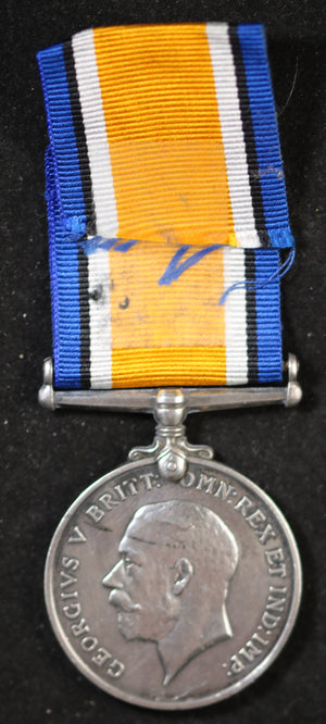 WW1 British War Medal for dead Canadian Private 60th Battalion