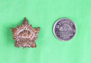 WW1 Canada General Service collar badge