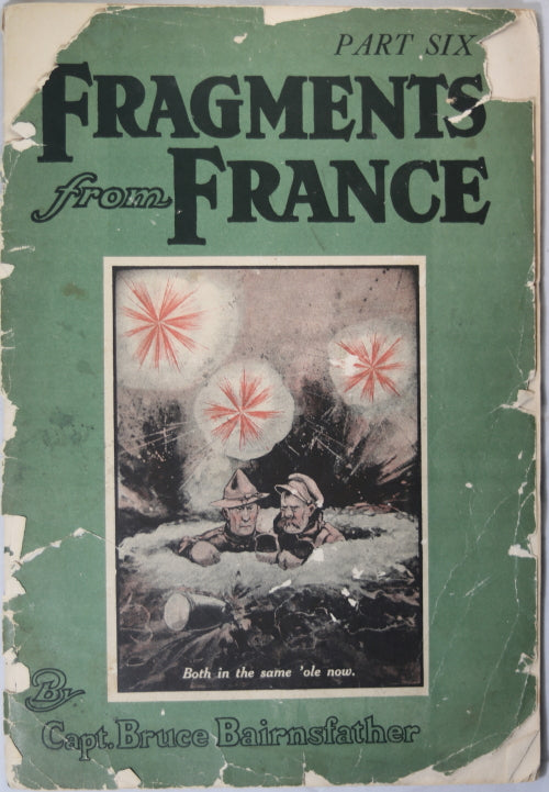 WW1 'Fragments from France Part Six' cartoons 1918
