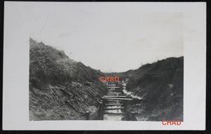 WW1 RPPC German photo of trenches Ypres November 1916 #3