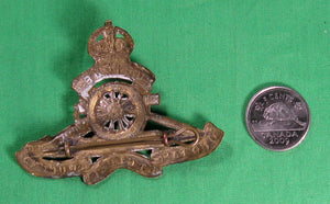 WW1 Royal Artillery cap badge