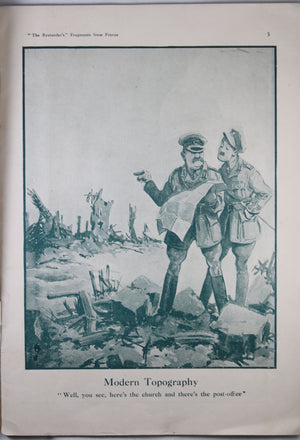 WW1 'The Bystander's Fragments from France Number Four' cartoons 1918