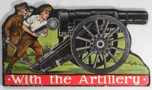 WW1 UK 1915 children's storybook on Artillery with dedication