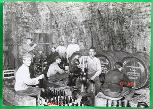 WW1 photos of wine bottling in Brussels under German occupation
