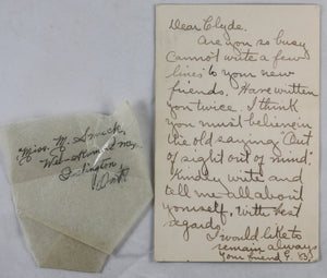 WW1 three letters to member Royal Flying Corps -Canada 1917-18