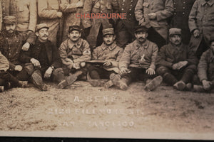 WW1 photo postcards French troops, by Albert Bené (San Francisco)