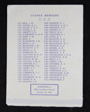 WW2-1942 RCAF Wings Party, Aylmer ON