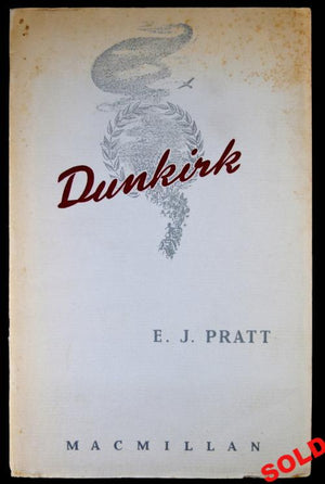 WW2 1941 pamphlet 'Dunkirk' poem by Canadian poet E.J. Pratt