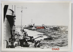 WW2 1941 photo German warships  navires de guerre Allemand